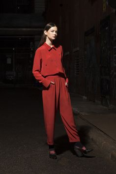 Rachel Comey Pre-Fall 2014 Collection Slideshow on Style.com