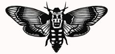 butterfly tattoos silence of the lambs - Google Search