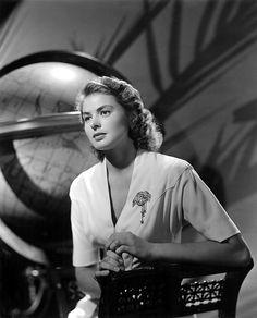 """""""Casablanca"""", Ingrid Bergman, 1942"""