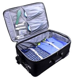 Us Traveler New Yorker 4 Piece Luggage Set Expandable