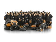 Professional Equipment for Commercial Landscaping & Ground Care