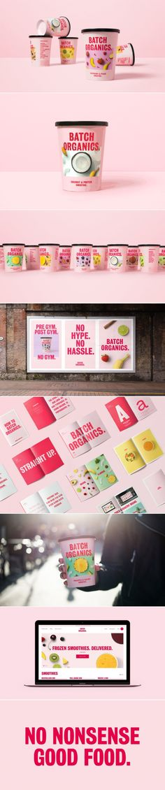 Batch Organics Aims To Bring Healthy Options Without The Hype — The Dieline   Packaging & Branding Design & Innovation News