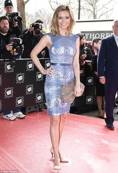 Rachel Riley looks gorgeous in blue lace midi dress at TRIC Awards Rachel Riley Legs, Racheal Riley, Blue Lace Midi Dress, Looking Gorgeous, Beautiful, Woman Crush, Celebrity Style, Celebs, Celebrities