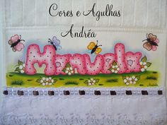 Cores e Agulhas: Toalhinha Pintada!! Tole Painting, Fabric Painting, Funky Design, Diy Art, My Works, Stencils, Patches, Gadgets, Snoopy