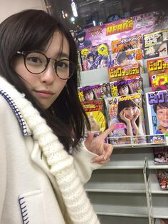 Haruka Fukuhara was spotted by herself at the convenience store in Hokkaido…