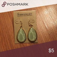 Earrings Tear drop earrings mint green Francesca's Collections Jewelry Earrings
