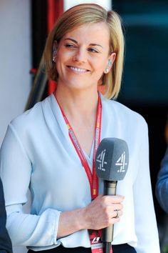 Susie Wolff retired in 2015 before joining Channel 4's coverage