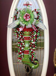 decoracion-puerta-de-navidad - Curso de organizacion de hogar aprenda a ser organizado en poco tiempo