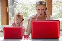 7 Parenting Tips for Working from Home with Young Children [By L.R.Knost, author of 'Two Thousand Kisses a Day: Gentle Parenting Through the Ages and Stages' now available on Amazon]  www.littleheartsbooks.com #parenting