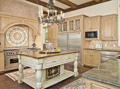 Plan W36484TX: Mediterranean House Plan with Stunning Master / Kitchen