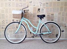 The White Rocking Chair: How to spray paint a bike and make it brand new!