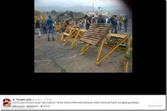 Las barricadas gochas causan sensación en Twitter (+fotos) - http://www.leanoticias.com/2014/02/24/las-barricadas-gochas-causan-sensacion-en-twitter-fotos/