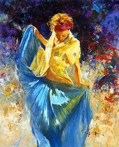 Robert Hagan 1947   Australian Plein-air Impressionist painter