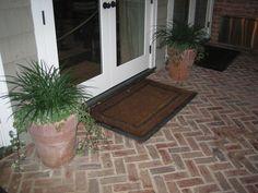 Homestead Collection - Inglenook Brick Tiles - thin brick flooring, brick pavers, ceramic brick tiles herringbone brick interesting floor idea