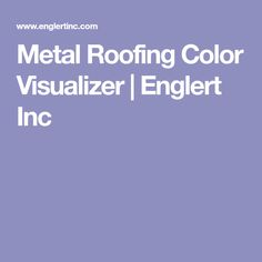 Best Englert Color Chart For The Home Pinterest Metal 400 x 300