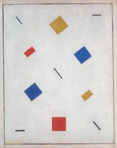hellohaters:  Bart van der Leck / Composition, 1918
