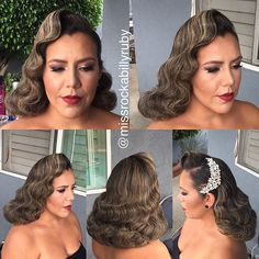 My absolutely gorgeous bride from this morning @mrymry789! Hair by me…