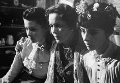 Diane Baker, Gusti Huber and Millie Perkins in The Diary of Anne Frank