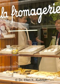 Artisan Cheese Shop, Luberon, Provence, France | Dr. Ellen K. Rudolph