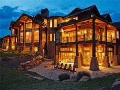 Park City Real Estate I Deer Valley Real Estate I Search for Utah Homes, Condos, Land for Sale | Property Details Castle in Log on The Mountain