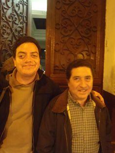 Con el congresista Pedro Morales Mansilla. (2011)