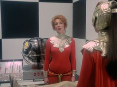 "Space 1999 2 x 23 ""Devil's Planet"" Dora Reisser as Interrogator Sci Fi Fantasy, Ufo, Nostalgia, Horror, British, Plant, Actresses, Space, Fashion"