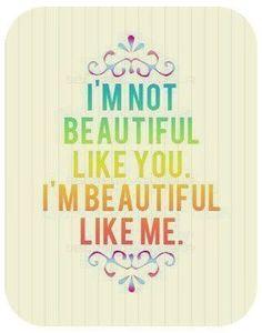 "Printable -- ""Beautiful Like Me"""
