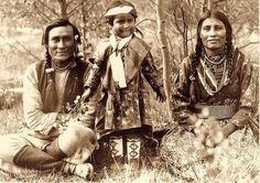 Assiniboine Family - 1906