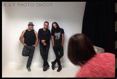 R.A.F. photo-shoot.