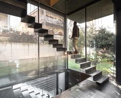 incredible staircase - Residence in Kato Kifissia by Tense Architecture Network: http://www.dezeen.com/2013/04/24/residence-in-kato-kifissia-by-tense-architecture-network/