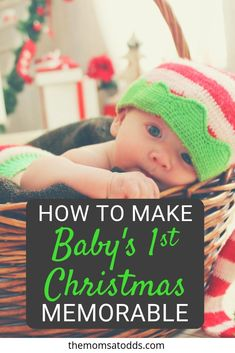e7616df05243c Baby's 1st Christmas - Tips to make it memorable. How to make baby's first  Christmas