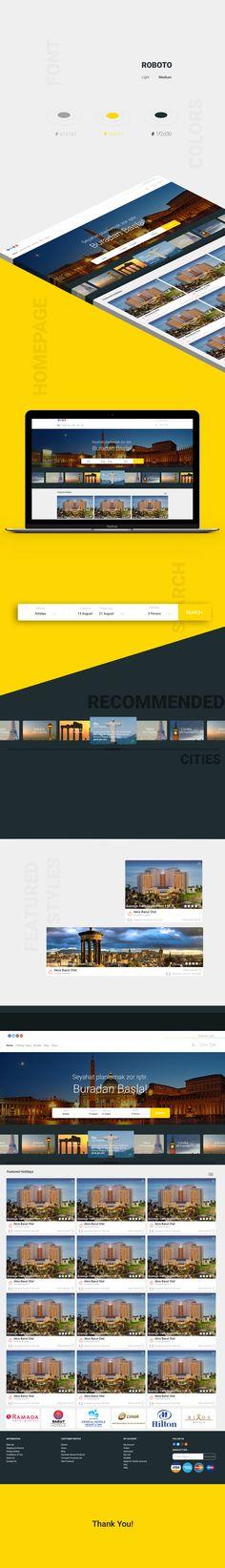 @Behance projeme göz atın: \u201cBooking website project\u201d https://www.behance.net/gallery/47414195/Booking-website-project