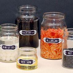 Potion Jar Centerpieces
