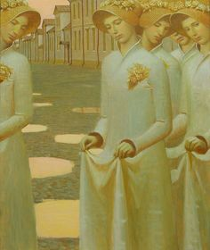 """Puddles""                                                Andrey Remnev, 2008    Oil on canvas."