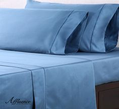 Quality starts from the bottom up, which is why our sheet sets are made with 100% cotton sateen fabric. At 1000 thread count, these sheets take sleep to a whole new level.