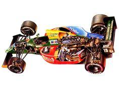 Benetton B190 _ 1990 Nelson Piquet
