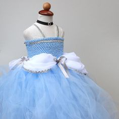 Cinderella Dress Disney Princess Dress  Cindrella by BloomsNBugs