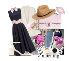 """""""Good Morning my friends ♥♥"""" by sali-sali ❤ liked on Polyvore featuring Vanessa Bruno, Roksanda, Chanel, BP., Tory Burch, LULUS and Oliver Gal Artist Co."""