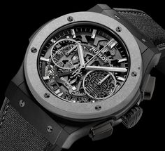 The new Hublot Classic Fusion Aerofusion Concrete Jungle watch with images, price, background, specs, & our expert analysis.