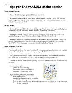 ap american literature essay questions Explore timing and format for the ap united states history english literature and sample student responses to an ap us history long essay question.