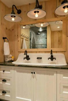You Should Totally Bookmark These Plush Basement Bathroom Ideas Tags: Tags: basement bathroom ideas, basement bathroom plans, small bathroom design ideas, small bathroom decor ideas Primitive Bathrooms, Rustic Bathrooms, Modern Bathroom, Minimalist Bathroom, Farmhouse Bathroom Sink, Trough Sink Bathroom, Sink Faucets, Rustic Bathroom Designs, Rustic Bathroom Vanities