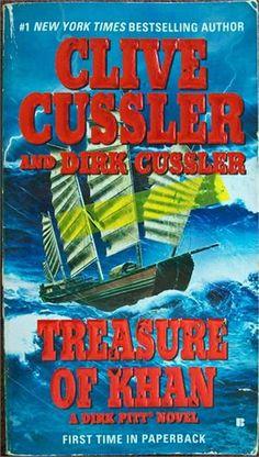 Treasure of Khan (A Dirk Pitt Novel) by Clive Cussler