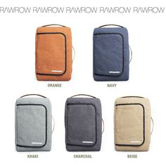 d1efb3ce53d Details about RAWROW Most Backpack Canvas Backpack Briefcase Rucksack  Laptop Shoulder Bag