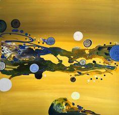 "Saatchi Art Artist Randi Antonsen; Painting, ""once upon a time"" #art"