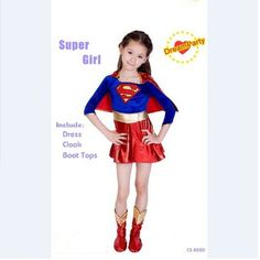 53faea791f2f90 ... Supergirl Costume Cosplay Superman Halloween Costume For Kids Party  Dress-in Girls Costumes from Novelty & Special Use on Aliexpress.com |  Alibaba Group