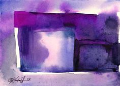 """ARTFINDER: Watercolor Abstraction No. 214 by Kathy Morton Stanion - This piece is from my abstract series """"Watercolor Abstraction"""". This whole series has been selected by the distinguished publishing company Artist Lane! You ..."""