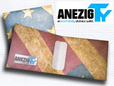 AnezigTy - an eco-friendly ultimate wallet made using Tyvek.  For detail and purchasing, please kindly check our bio on twitter @ANEZIGstreet