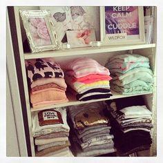 pretty organization for my room