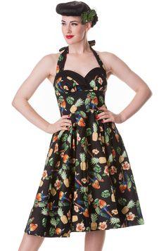 365fd632a53 Hell Bunny Sassy Tropical Dress Tiki Dress