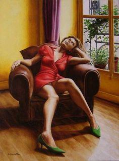 By Annick Bouvattier #gallery #artist #art
